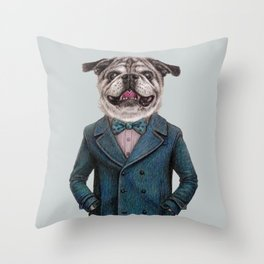 Rigel by Windness Throw Pillow