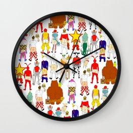Fast Food Butts Wall Clock