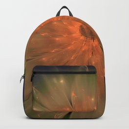 Abstract Flame Flower Backpack