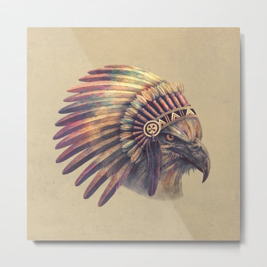 Chief - colour option Metal Print