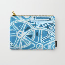 Geared Up ( Big Blue) Carry-All Pouch