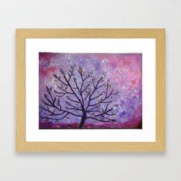 Tree Locs - Organically Grown Framed Art Print