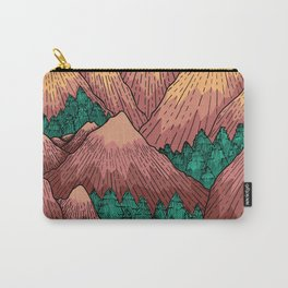 Natural Mountains Carry-All Pouch