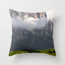 Lonely Cloud Throw Pillow