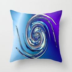 Water Witch  v.2 Throw Pillow