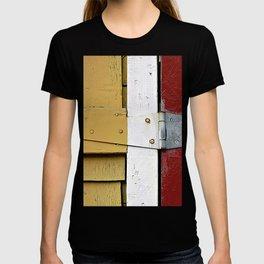 Isosceles Triangles on Wood T-shirt