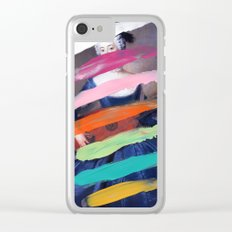 Composition 505 Clear iPhone Case
