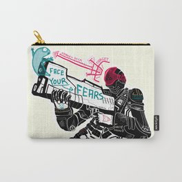Face your Fears Carry-All Pouch