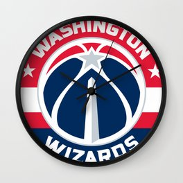 WashingtonWizards Logo Wall Clock
