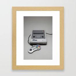 SNES Framed Art Print