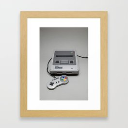 SNES Framed Art Print