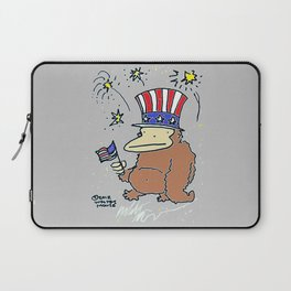 4th of July Ape Laptop Sleeve