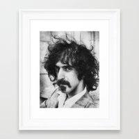 zappa Framed Art Prints featuring Zappa by avida