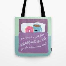 Let's Have Breakfast Tote Bag