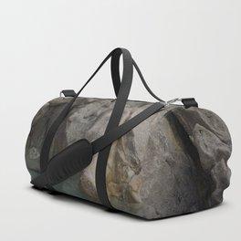 Natural Ocean Rock Pool Reflection Duffle Bag