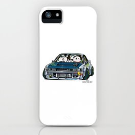 Crazy Car Art 0154 iPhone Case