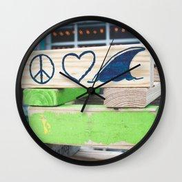 Beach Games Wall Clock
