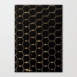 golden beehive Canvas Print