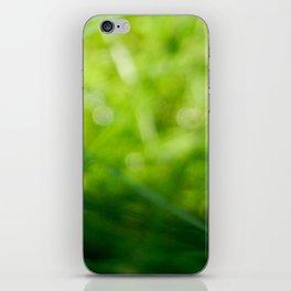 The Verdant Letter iPhone Skin
