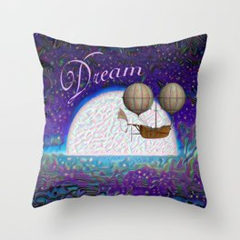 Halcyon Dreams Throw Pillow