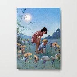 """""""Midsummer Night"""" by Margaret Tarrant Metal Print"""