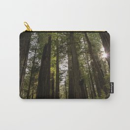 Redwoods Make Me Smile - Nature Photography Carry-All Pouch