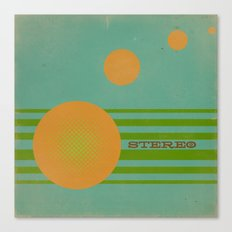 Stereolab (ANALOG zine) Canvas Print
