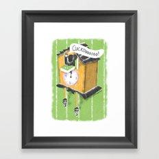 Cuckoo Boy Framed Art Print