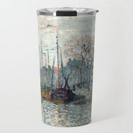 Amsterdam by Claude Monet, 1874 Travel Mug