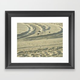 Traces Framed Art Print