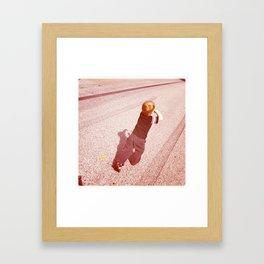 Follow the Perspective Framed Art Print