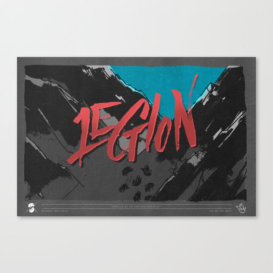 Legion of Demons (By Nate Utesch) Canvas Print