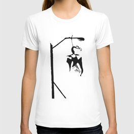 Vulture in the lamppost T-shirt