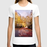 wanderlust T-shirts featuring wanderlust by Sylvia Cook Photography