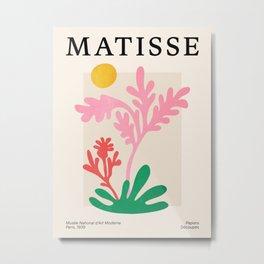 Abstract Garden: Matisse Paper Cutouts IV Metal Print
