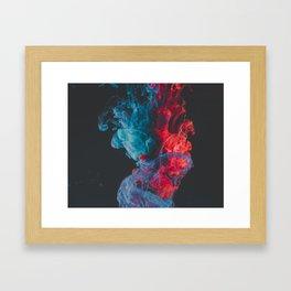 Crystal Ship Explodes Framed Art Print