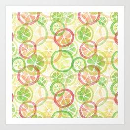 Citrus_rg Art Print