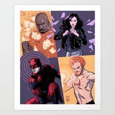 Defenders Art Print