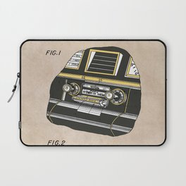 patent Selective stereo tape cartridge player Laptop Sleeve