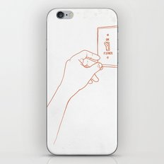 The Emotional Light Switch iPhone & iPod Skin