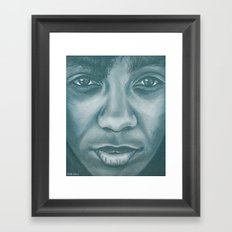 ms.think Framed Art Print