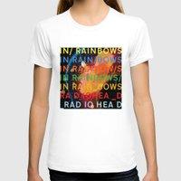radiohead T-shirts featuring Radiohead - In Rainbows by NICEALB