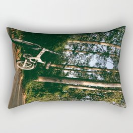 Trail Bike Rectangular Pillow