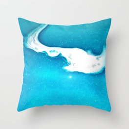 Ghostly Waters Throw Pillow