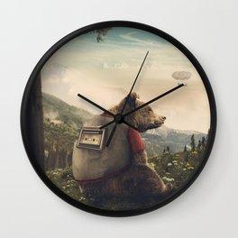 Wonderful World of Teddy Wall Clock