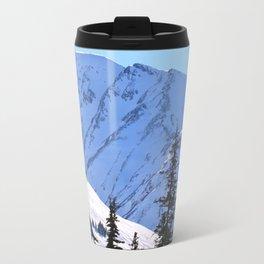 Back-Country Skiing  - V Travel Mug
