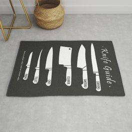 Kitchen Art Knife Guide Rug