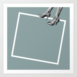 Floating Point Art Print
