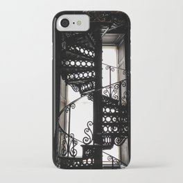 Trinity College Library Spiral Staircase iPhone Case