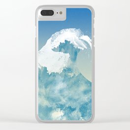 Mavericks Clear iPhone Case